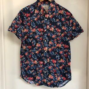 Hollister Epic Flex Floral Hawaiian shirt